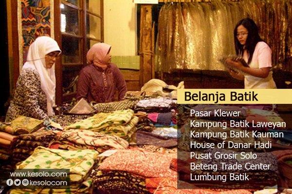 belanja batik di solo