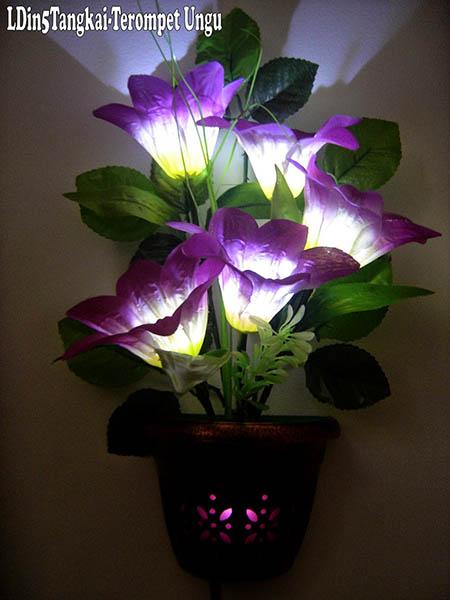 lampu bunga unik