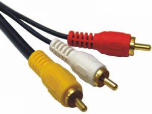 contoh kabel RCA
