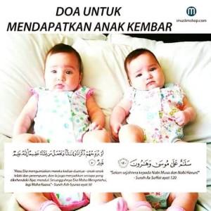 doa minta anak kembar
