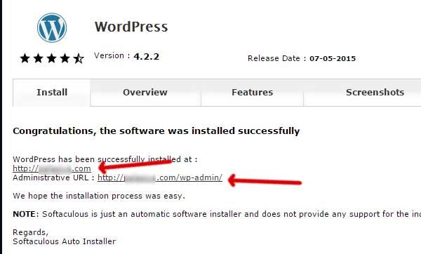 instalasi wordpress telaah sukses