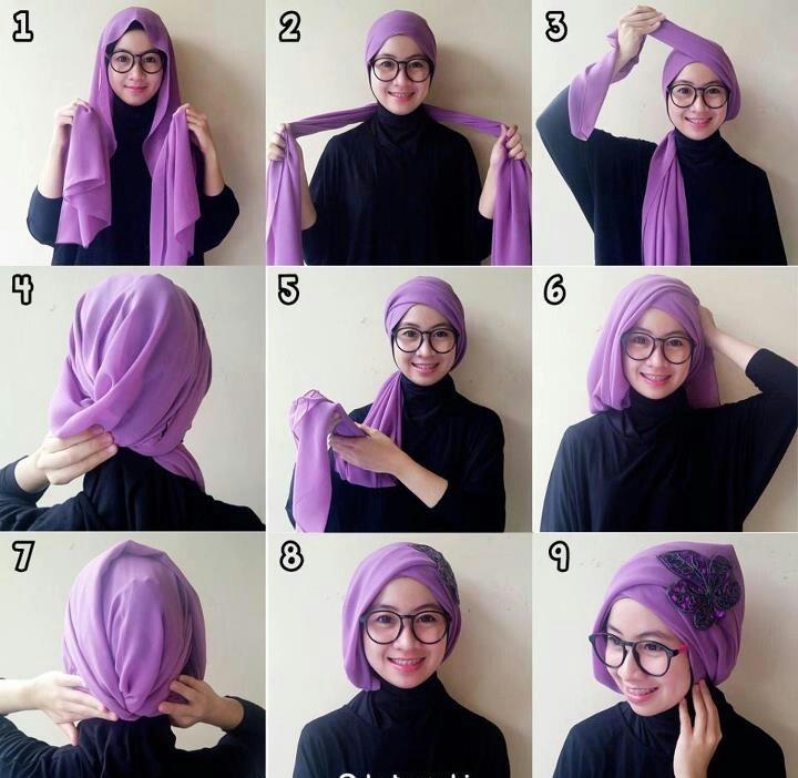 Ini Dia Kumpulan Tutorial Aneka Hijab Terbaru Tumpi Id
