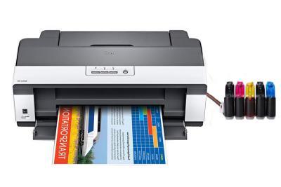 jenis printer inkjet dengan infus tinta diluar