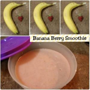 Banan Berry Smoothie
