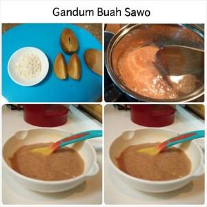Gandum buah sawo
