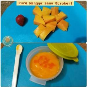 Pure Mangga Saus Stroberi