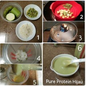 Pure Protein Hijau