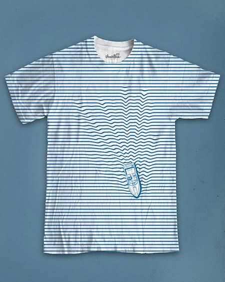 contoh-desain-kaos-produk-Striped-T-shirt