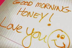 selamat pagi sayang