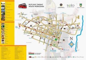 Rute Bus Tingkat Werkudara. Surakarta.go.id
