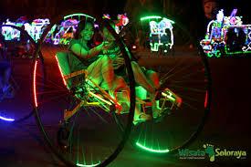Sepeda anti galau di Stadion Manahan. WisataSoloraya.com