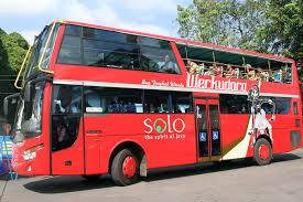 Bus tingkat Werkudara. Surakarta.go.id