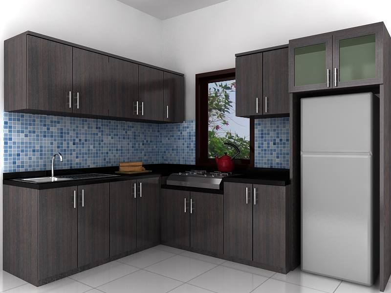 Dapur Kabinet Cantik Desainrumahid Com