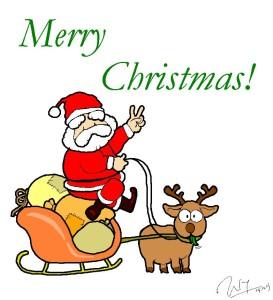 gambar merry christmas