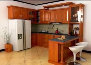 kabinet dapur cantik
