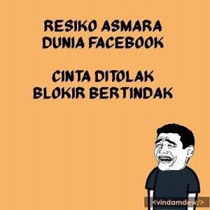 meme cinta facebook
