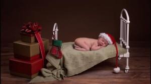 Bayi Natal Gaya Tidur/Dailymail.co.uk/Karen Wiltshire