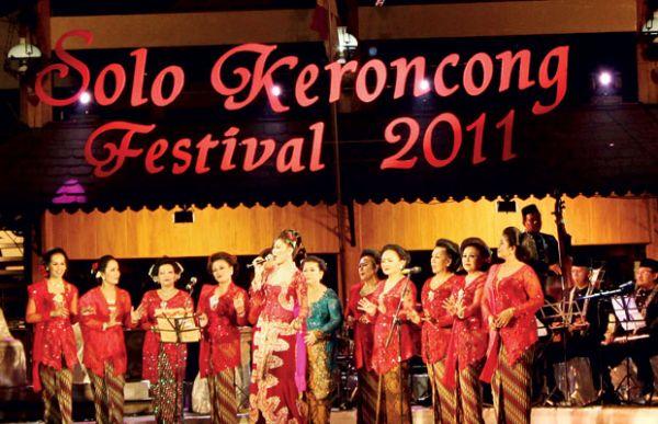 Solo Festival Keroncong 2011/surakarta.go.id