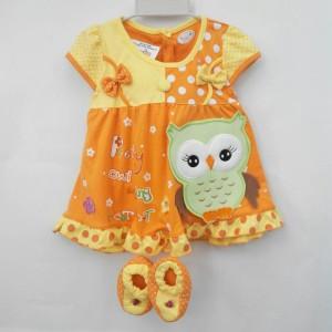 Dress bayi lucu dan murah di Quinn Baby Shop
