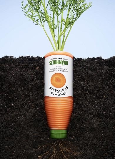 membuat iklan efektif - minuman bahan sayuran