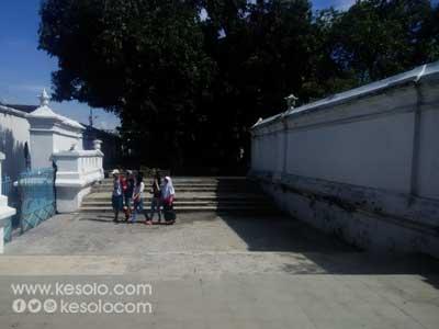 Kori Renteng Sitihinggil Keraton Kasunanan Surakarta Hadiningrat