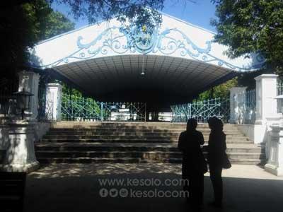 Kori Wijil Sitihinggil - Keraton Kasunanan Surakarta