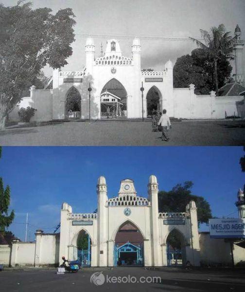Solo Tempo Dulu - Masjid Agung Solo - Gerbang 1934 (Jongbloed)