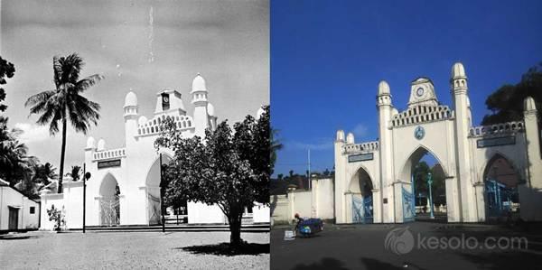 Solo Tempo Dulu - Gerbang Masjid Agung Solo 1900-1940