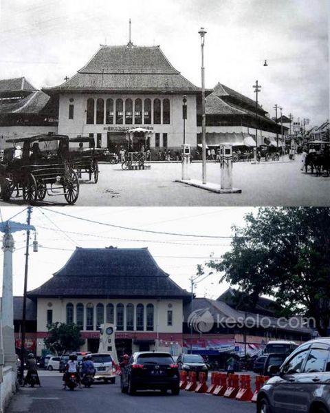 Solo Tempo Dulu - pasar gede 1935 - kiliaanwn
