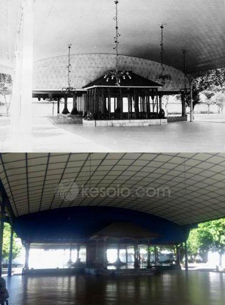 Solo Tempo Dulu - Bangsal Manguntur Tangkil di Sitihinggil 1910-1930