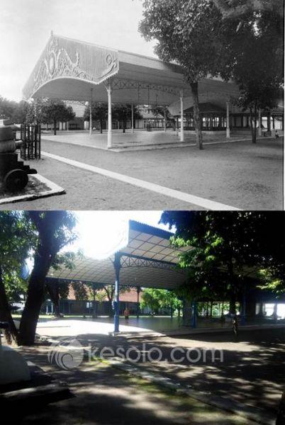 Solo Tempo Dulu - Bangsal Sewayana Sitihinggil Keraton Surakarta 1910