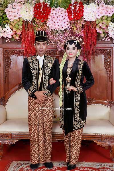 Ciri Khas Busana dan rias pengantin Solo Putri dari Surakarta
