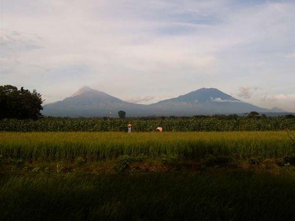 Tempat Wisata Boyolali Gunung Merapi dan Gunung Merbabu Jawa Tengah