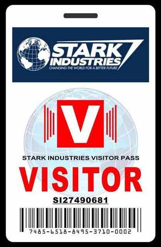 contoh ID Card untuk visitor/pinterest.com