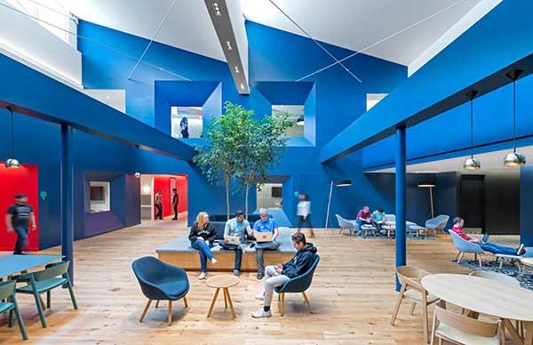 kantor unik dan keren BEATS ELECTRONICS, Designed by: Bestor Architecture/JASPER SANIDAD
