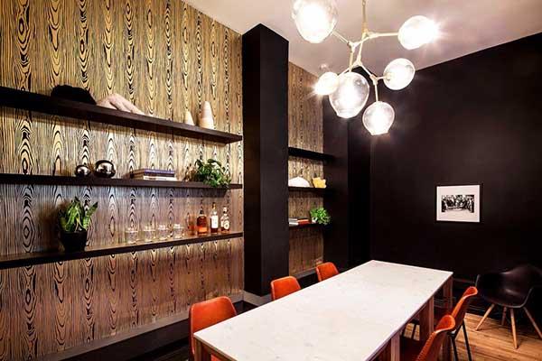 kantor unik dan keren BLUECORE, Designed by: Justin Huxol of Huxhux Design for Homepolish/UDOMFOTO