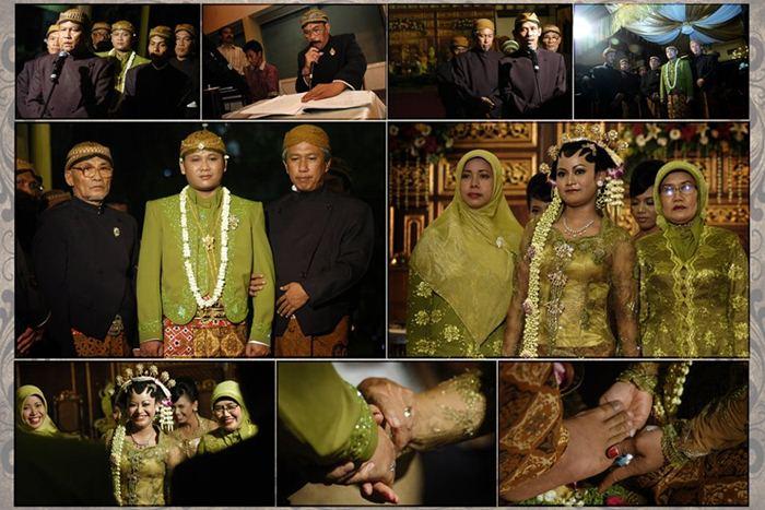 Moment penting resepsi pernikahan/Dedy Timbul