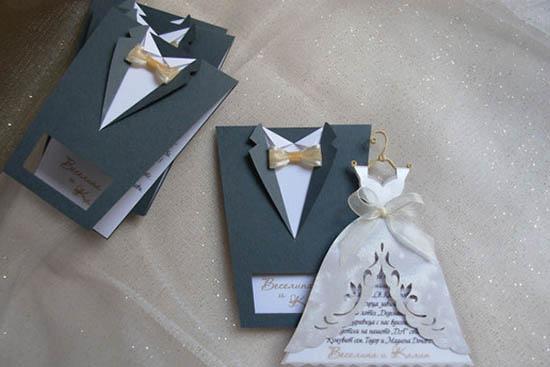 undangan pernikahan unik berbentuk gaun pengantin - casademadridensaopaulocom