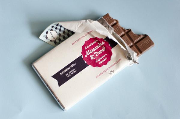 undangan pernikahan unik cokelat - brideandbreakfast-ph