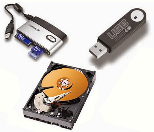 peralatan kantor - aneka ragam media penyimpanan digital