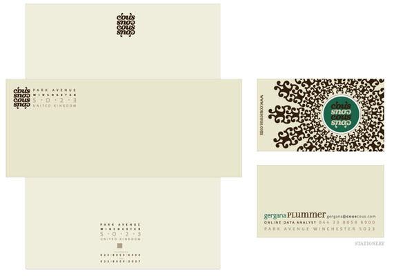 contoh kop surat perusahaan Cous Cous by Gergana Le Coq designmodocom