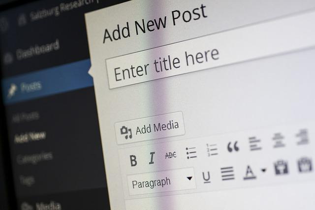 Menulis Artikel Di WordPress