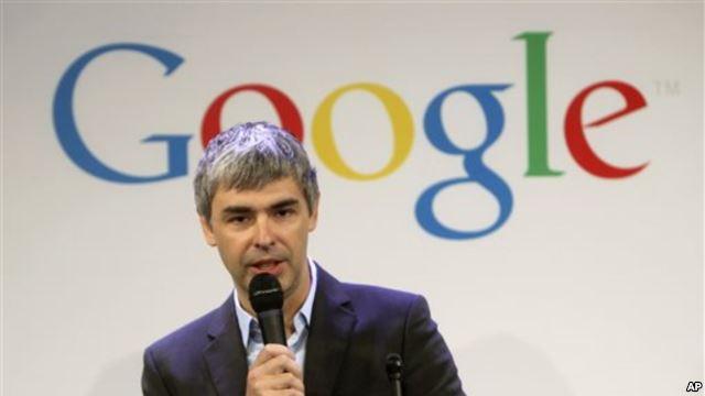 foto Larry Page - Pendiri Google