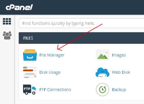 instal plugin melalui file manager cpanel