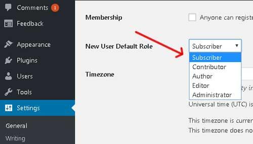 mengatur membership pada website berbasis wordpress