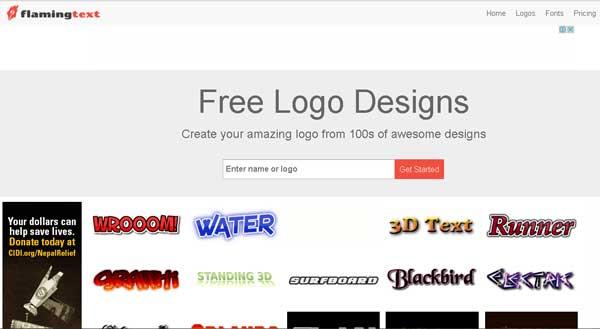 situs teks logo gratis