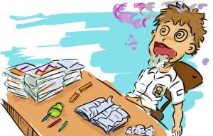stres di sekolah