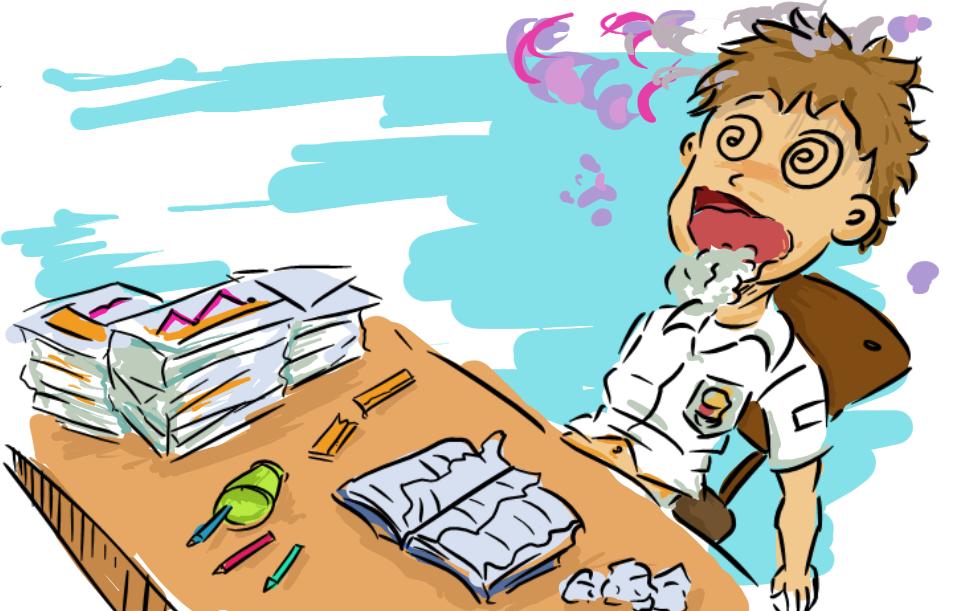 stress di sekolah