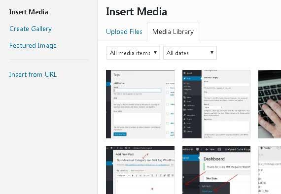 upload file ke postingan wordpress dengan mudah
