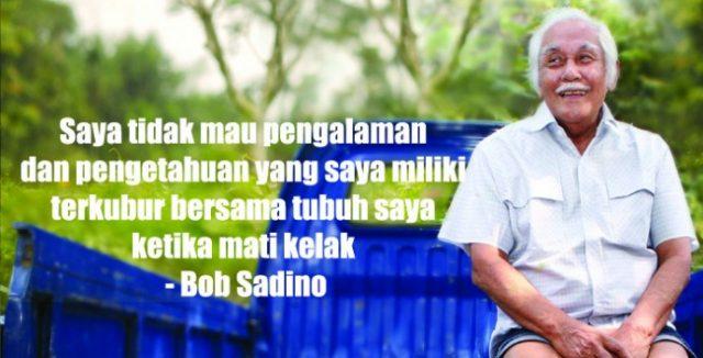 gambar motivasi kerja Quote Bob Sadino dalam kenangan